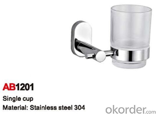 Nice Design Bathroom Accessory Single Cup AB1201