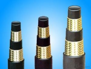 Wire-braided Hydraulic Hose