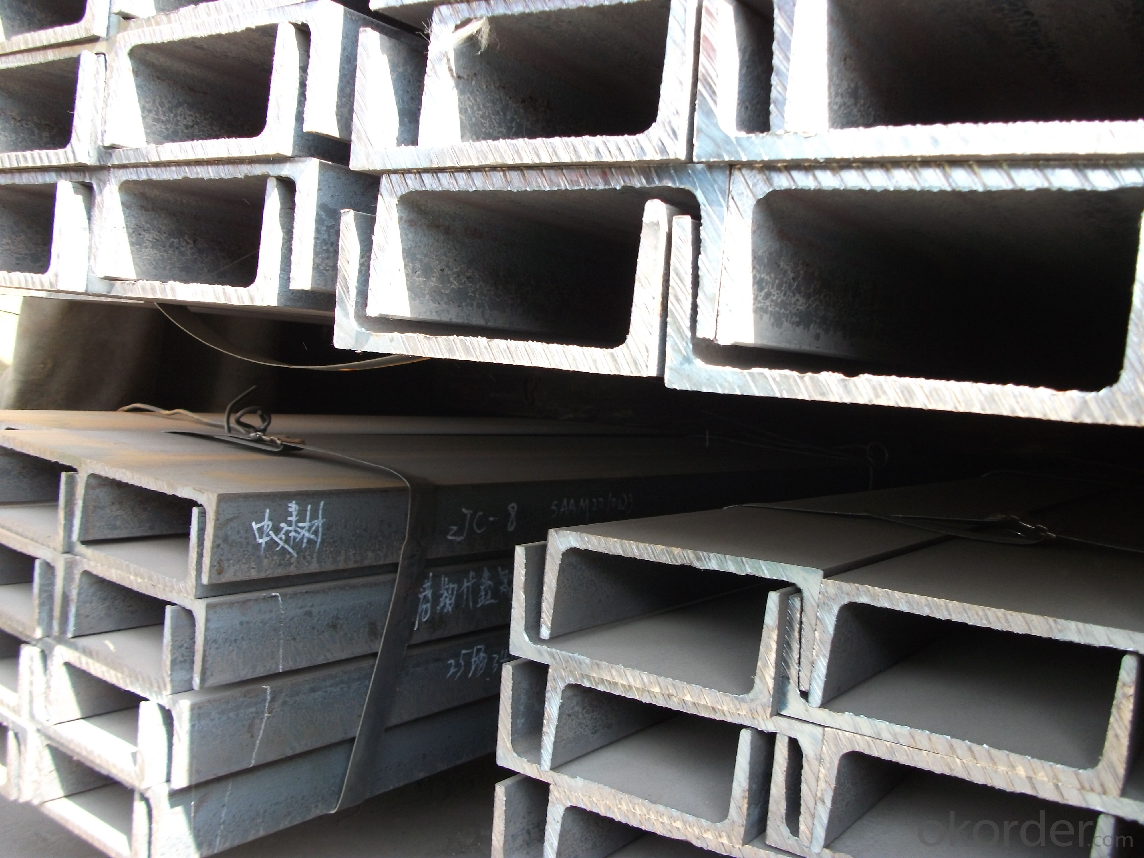 JIS Standard Hot Rolled Steel U Channels