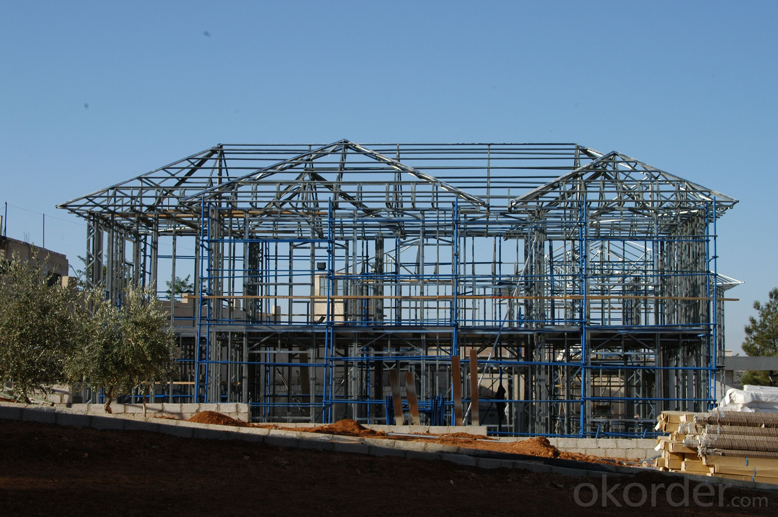 Two Storey Web-Steel Structure Houses