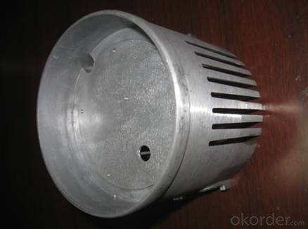 Aluminum die casting parts for LED lighting (with painting)