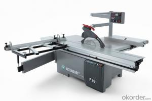 Woodworking vertical cutting machine
