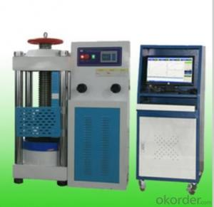 Full-automatic concrete hydraulic pressure testing machine 2000kN3000kN22