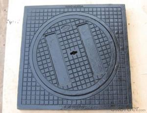 Ductile Iron Manhole Cover MC054 Grey Iron