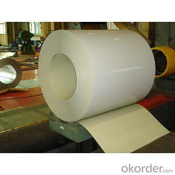Prepainted gavanized steel coils