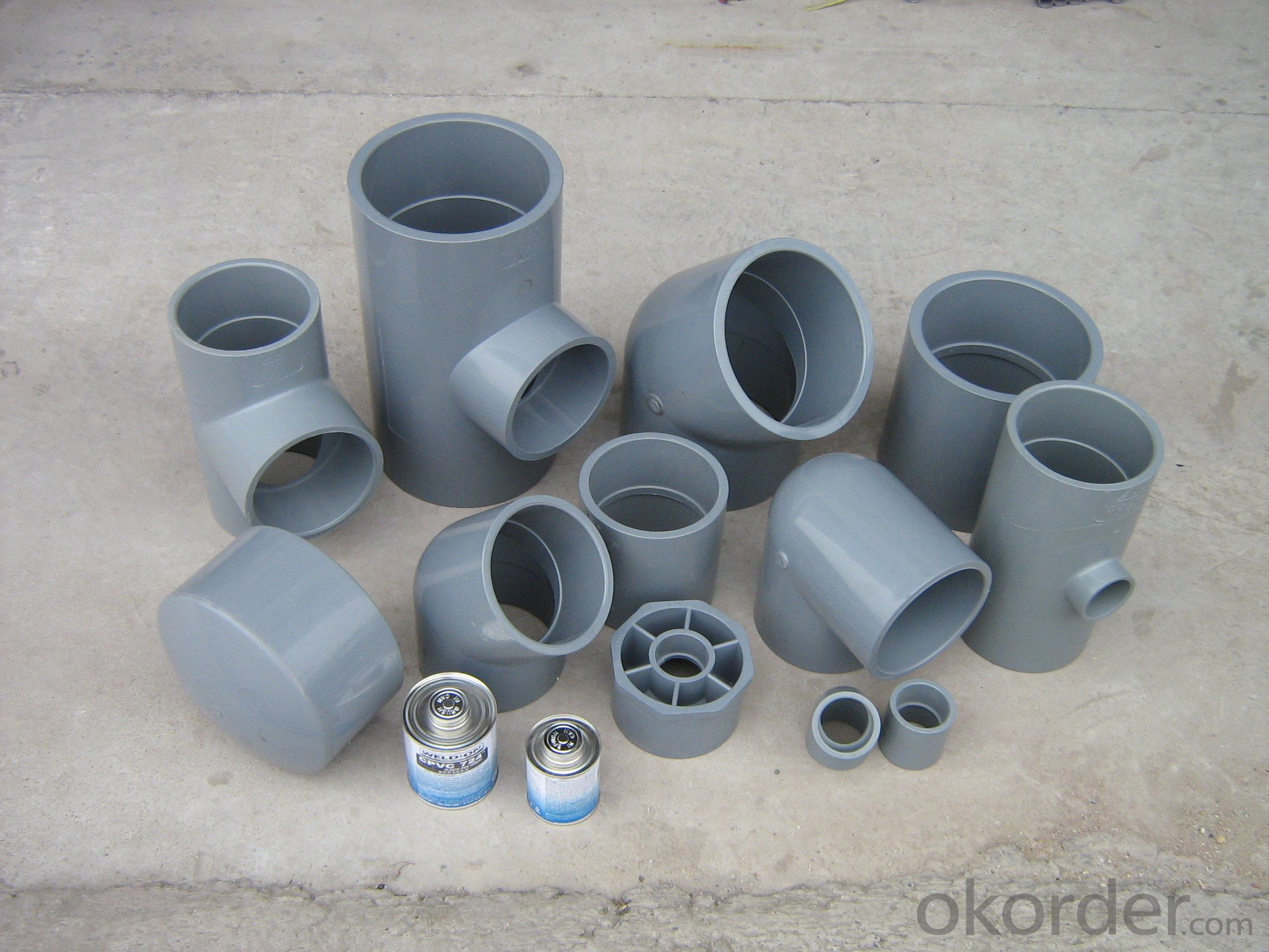 PVC Pressure Pipe GB/T10002.1 2006 on Sale