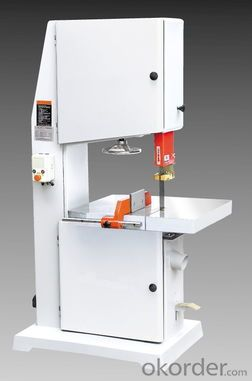 horizontal wood cutting band saw