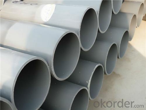 PVC Pressure Pipe 0.6MPa,0.8MPa,1.0MPa,1.25MPa,1.6MPa