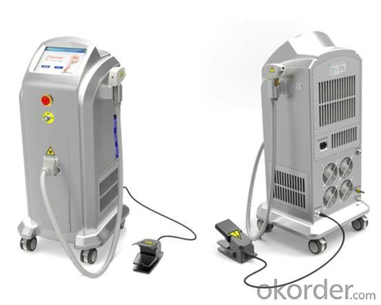 Diode laser hair removal machine for hair removal permanent  TUV medical CE approved