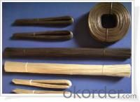 Manufacture of cut black annealed tie wire