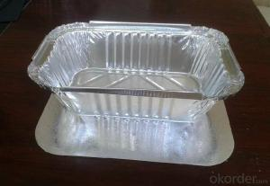 Food Container Usage Lubricated Aluminium Foil