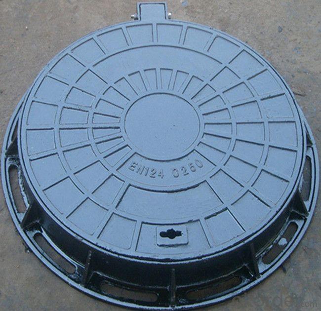 EN124 500mm Round SMC/BMC composite manhole cover