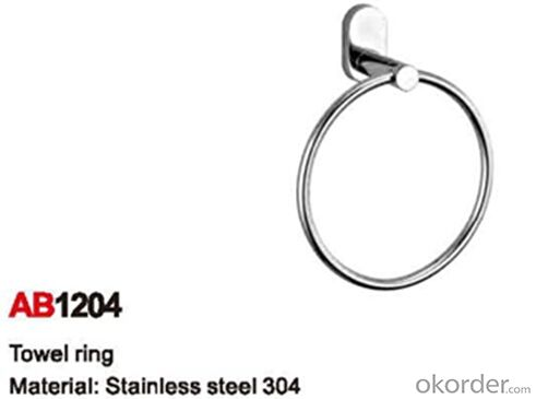 Nice Design Bathroom Accessory Towel Ring AB1204