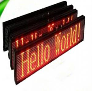 LED Programmable Single Color LED Display CMAX-S2
