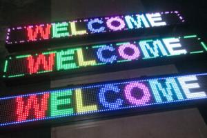 Programmable LED Moving Message Sign Board CMAX-M4