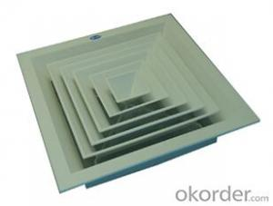 ABS Antiflaming Square Air Diffuser