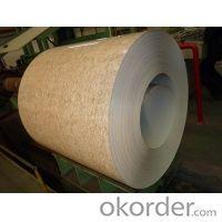 Printing gavalume steel coil