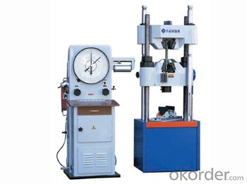 WE-A Series Dial Type Hydraulic Universal Testing Machine