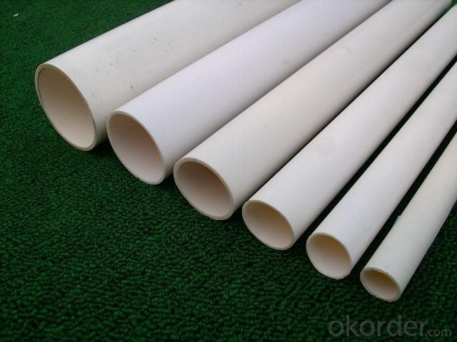 PVC Pressure Pipe Corrosion Resistant Made in China