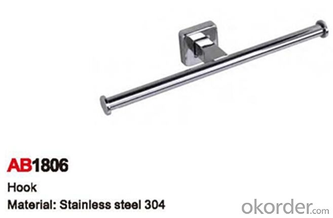 China Stainless Steel Bathroom Accessory Hook AB1806
