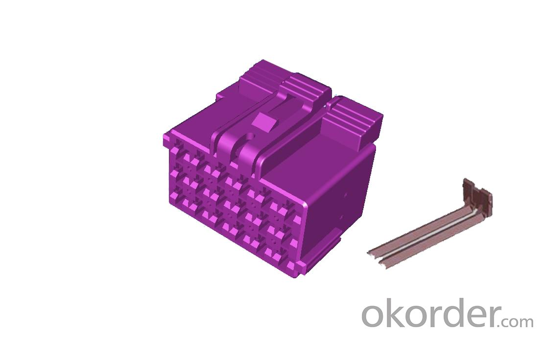 Connectors And Fuse Boxes Purple