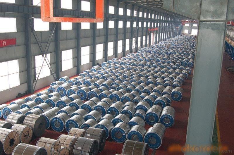 Prepainted gavalume steel coil