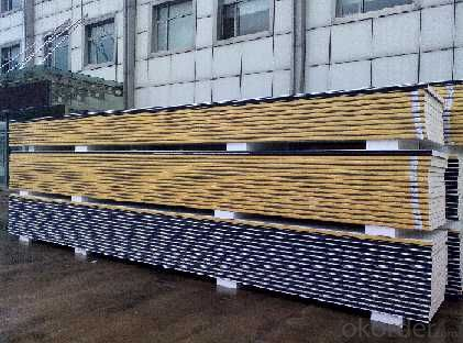 High Quality 50 MM PU  Sandwich Wall Panels