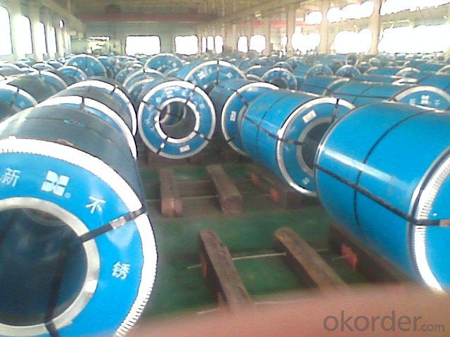 Stainless Steel Coil 304 Cold Rolled BA Finish