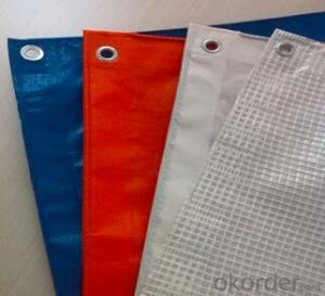 Washable sunproof +UV treated pe tarpaulin