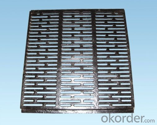 Manhole Cover Custom Ductile Iron Casting