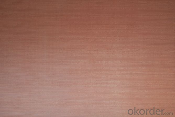 Natural Cherry Veneered Face MDF/Chipboard Board