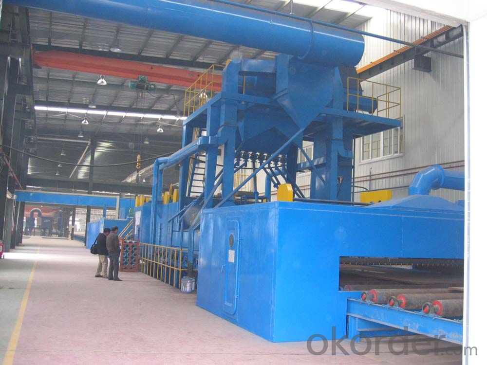 Automatic Chain Hanger Type Shot Blasting Machine for Large Casting Parts