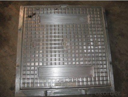 Ductile cast iron manhole cover D400