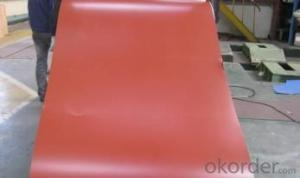 EXCELLENT COLOR COATED STEEL COIL RED
