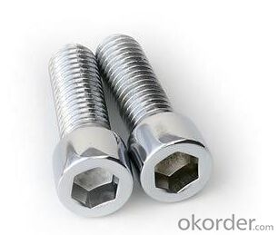 Hexagon Socket Cap Screw  M2.5-M20 DIN912