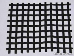 Road construction PP biaxial geogrid