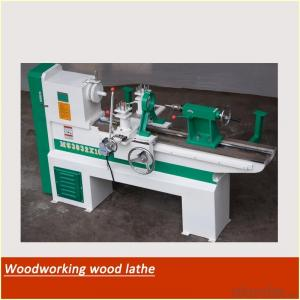 Wood copying lathe