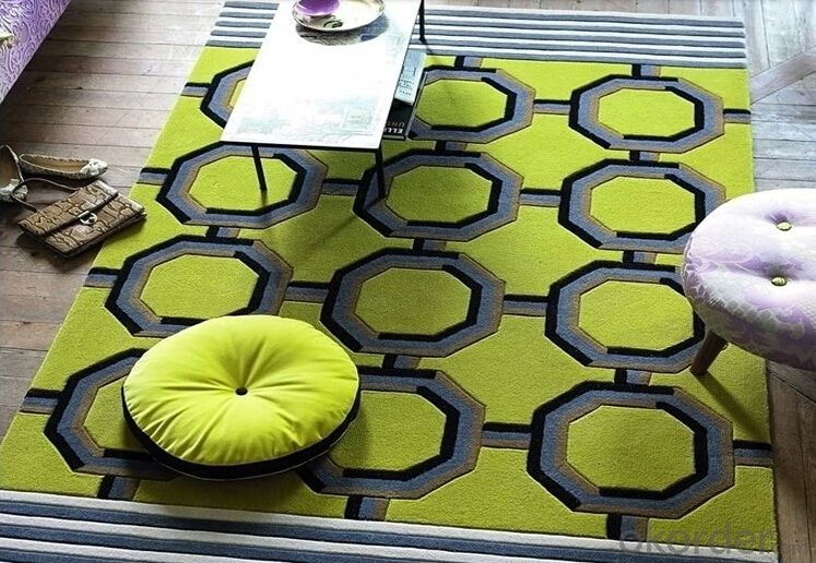 Acrylic custom fashion carpet