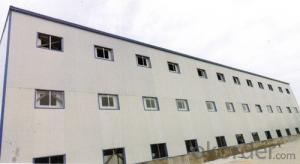 Prefabricated steel frame workshop warehouse building