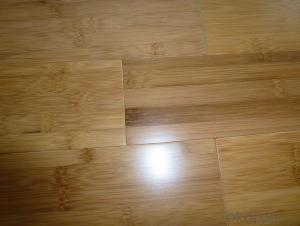 Natural Horizontal Solid Bamboo Flooring Parque UV Coating Click System