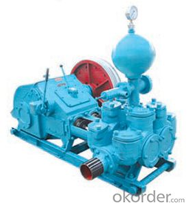 BW850/2B Pump Is mainly used for supplying flushing fluid to the borehole in geological drilling process