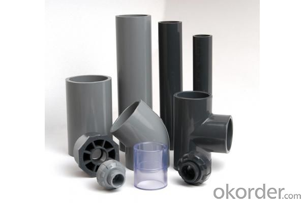 PVC Pressure Pipe  ISO9001, ISO14001 on Sale