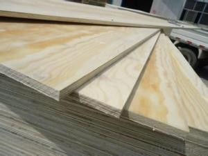 Radiation Pine Veneer Faced  Plywood & MDF Board