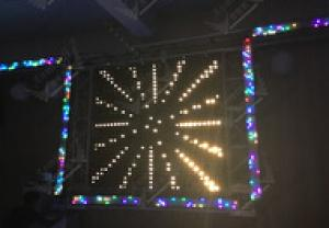 Portable LED Video Pixel Wash Bar For DJ CMAX-X3