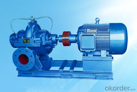 SBS Single Stage Double Suction Centrifugal Pump