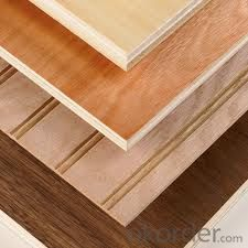 Veneer Faced Plywood Melamine Faced Plywood