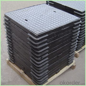 Manhole Cover Ductile Cast Iron  D-400 on Sale