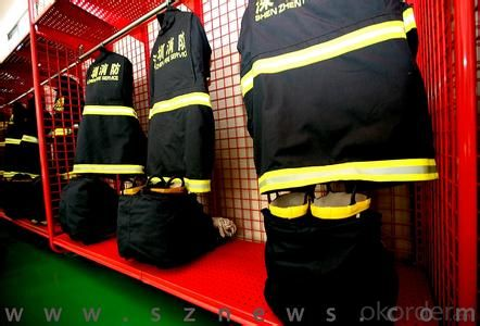 antifire cloth black