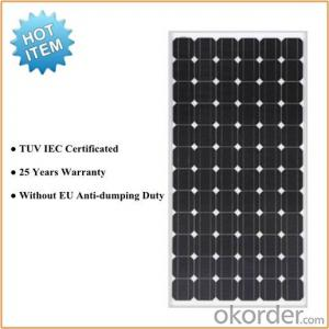 Mono 270W with Solar Panel TUV Certification