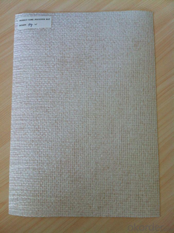 Reinforced Polyester Mat With Fiberglass Mesh